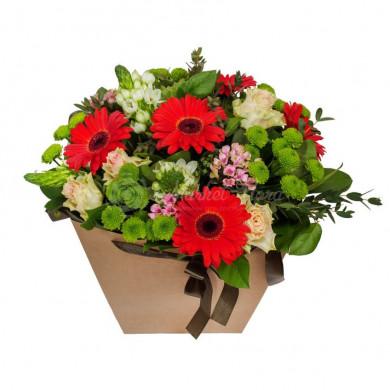 """Цветы в коробке """"Просто так"""""""